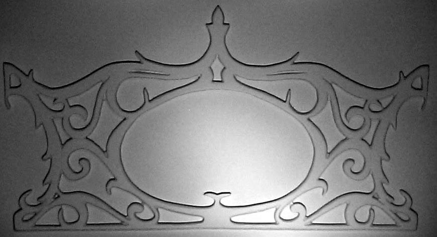 Vacuform Panel - Carousel Crown